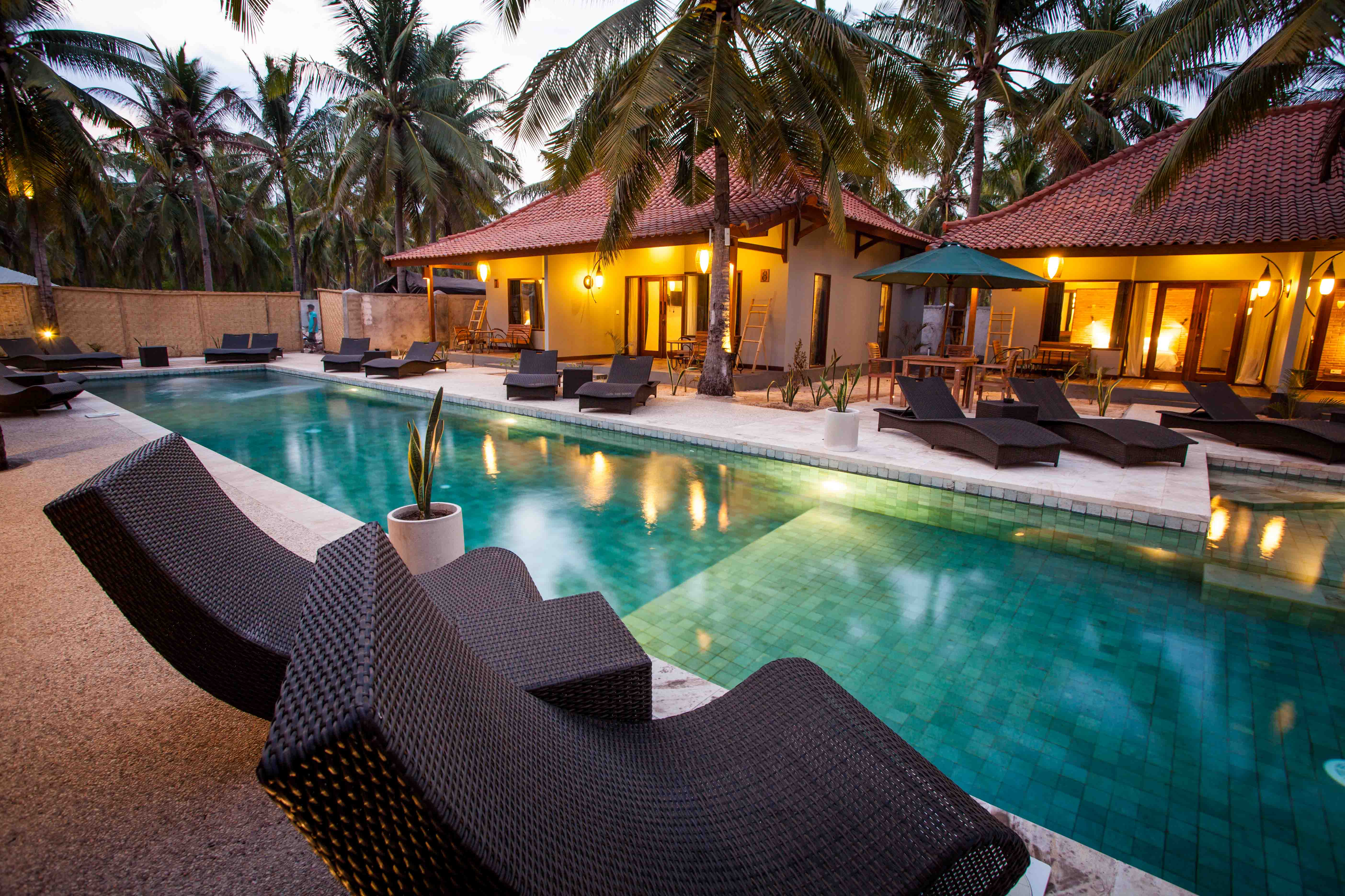 Belukar Belukar A Brand New Hotel Villa Resort Located In The Peaceful Coconut Fields Of Gili
